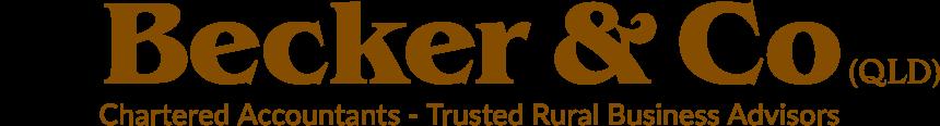 Becker & Co | Chartered Accountants - Trusted Rural Advisors