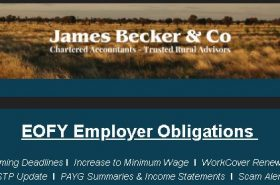 EOFY Employer Obligations | Becker & Co