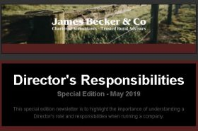 Director's Responsibilities | Becker & Co