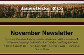 November 2019 Newsletter | Becker & Co