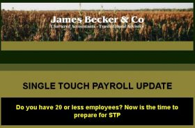 Single Touch Payroll Update | Becker & Co