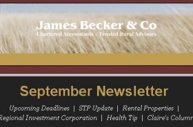September 2019 Newsletter | Becker & Co