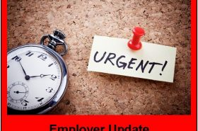 ALERT – Employer Obligations Update