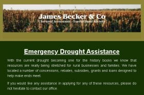 Emergency Drought Assistance Resources | Becker & Co